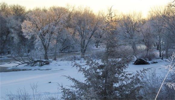Winter Elk River