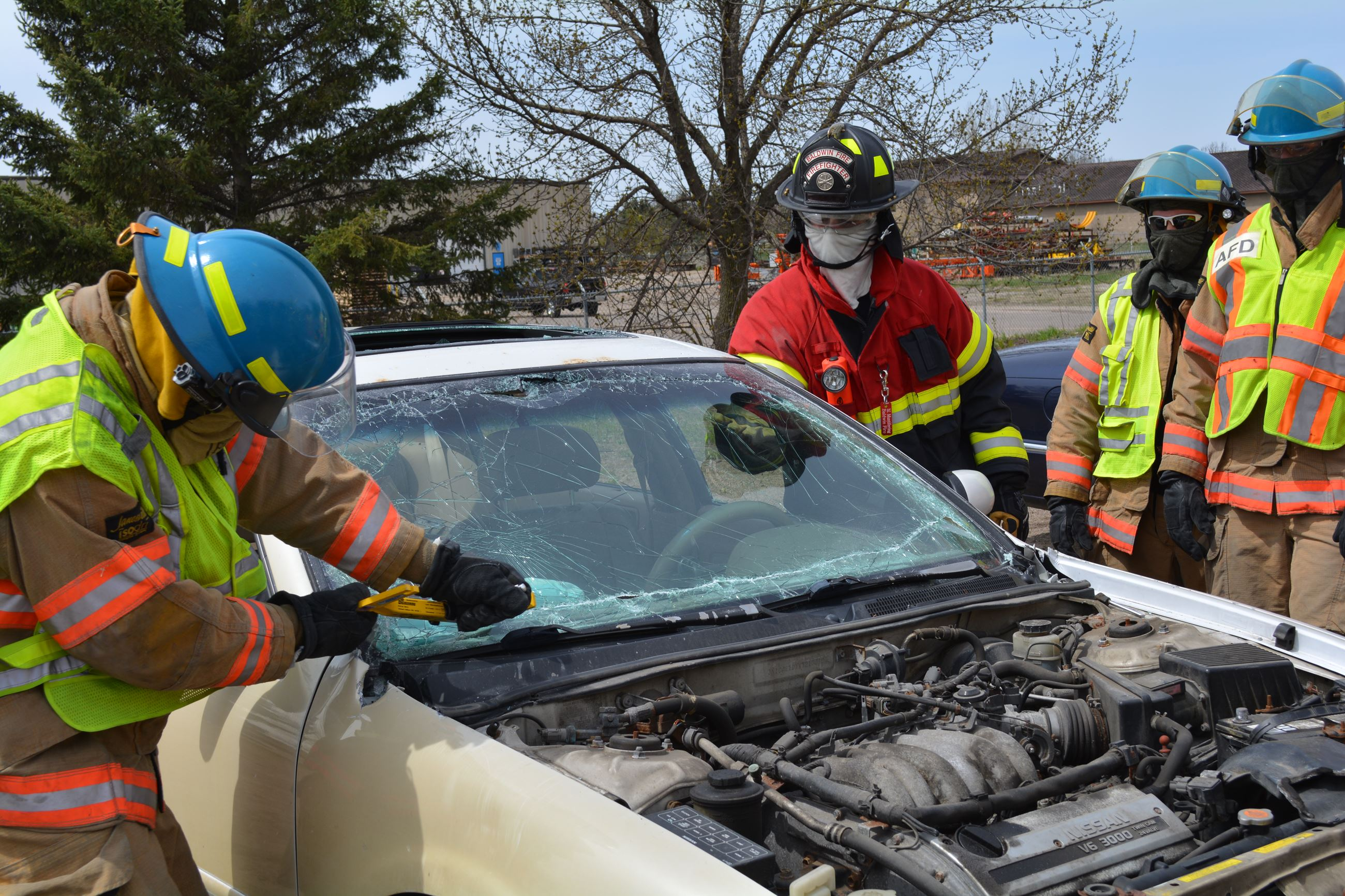 Extrication Training - Car
