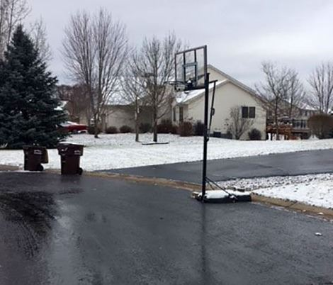 Basketball Hoop Street