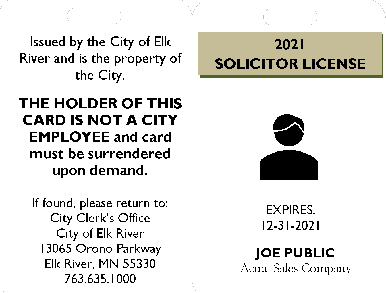 2021 ID BADGE SOLICITOR